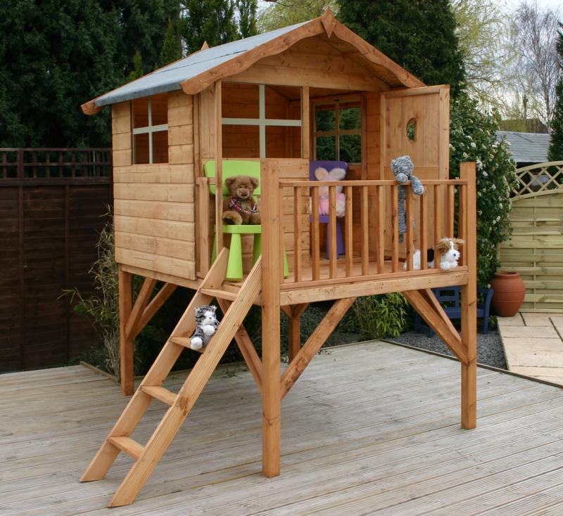 Игровой домик на дереве для детей своими руками 921