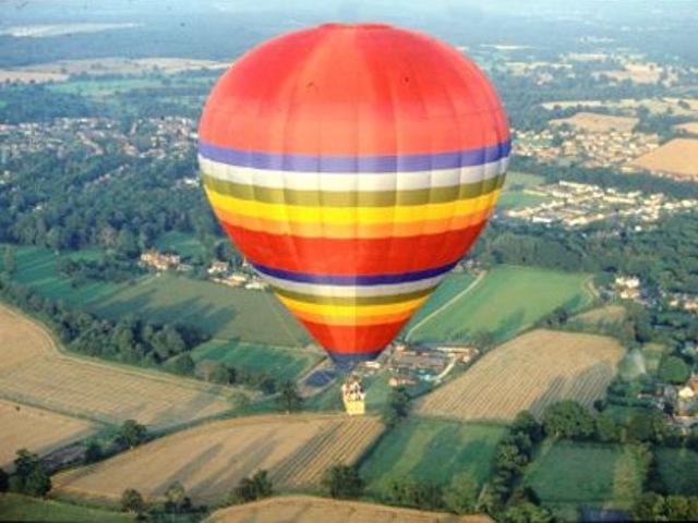 Полет  на  воздушном  шаре.  МО