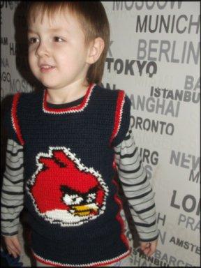 Жилет Angry Birds для мальчика