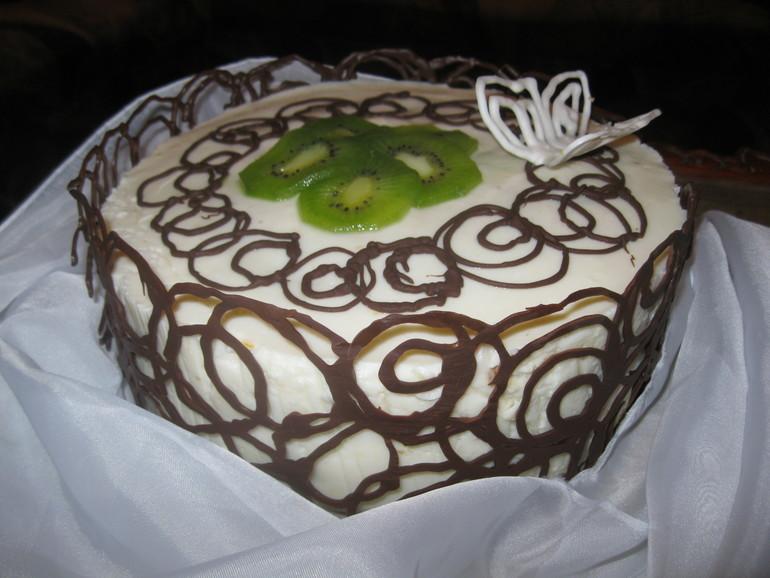 Просто тортик.