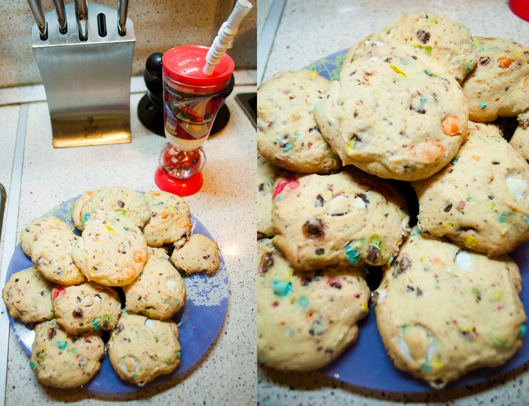 И снова весёлое (и вкусное) печенье
