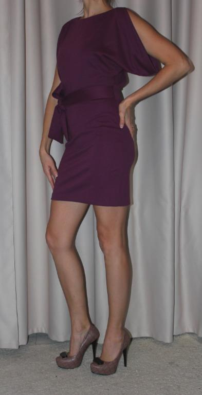 Последнее  бордовое  итальянское  платье  р.44,  Москва