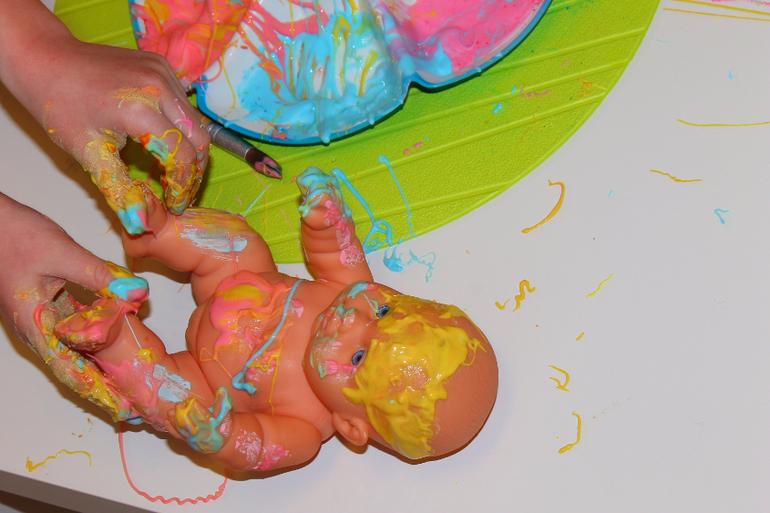 Краска для бодиарта своими руками 12