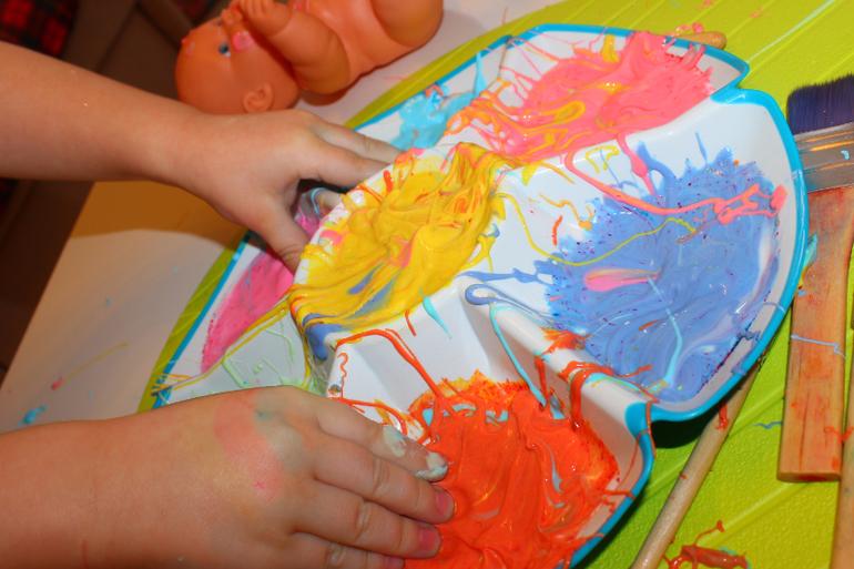 Краска для бодиарта своими руками 52
