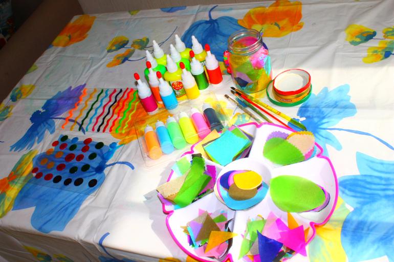 Витражные краски своими руками клей пва и гуашь 98