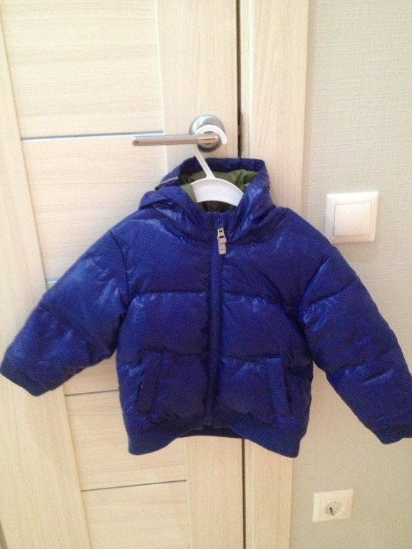 Куртка на мальчика Hanna Andersson