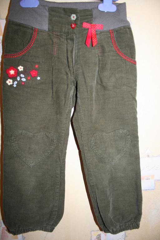 Вельветовые брюки Mariguita, р.98