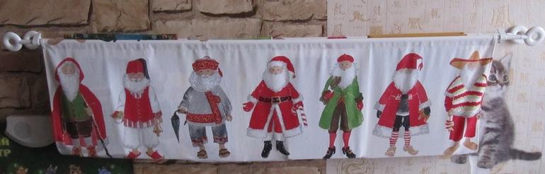 Слинго-полка для книг и новогодняя подушка