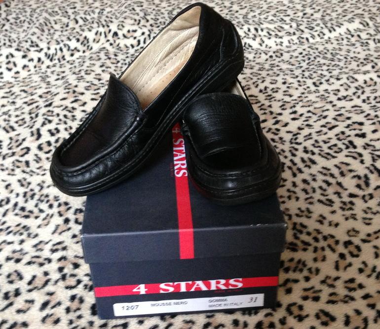 Туфли для мальчика 31р, кожа - 700р