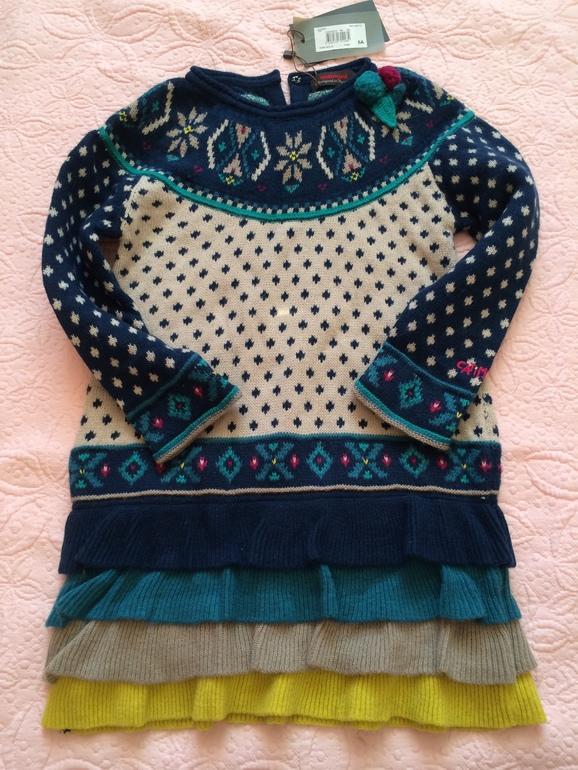 Шерстяное платье Catimini 5A, 2800 р СПб