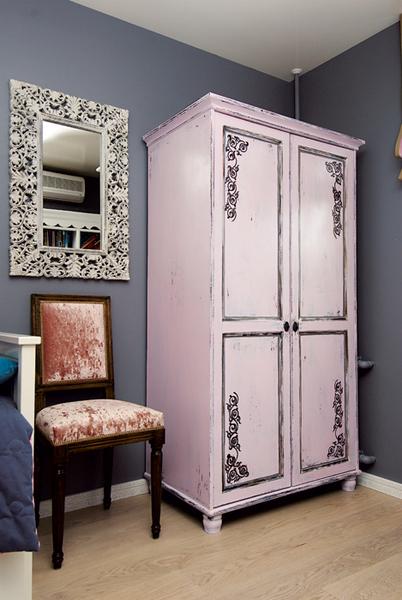 Как сделать шкаф в стиле прованс мастер класс