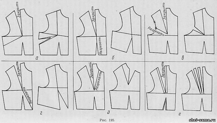 Как сделать боковые швы у платья 526