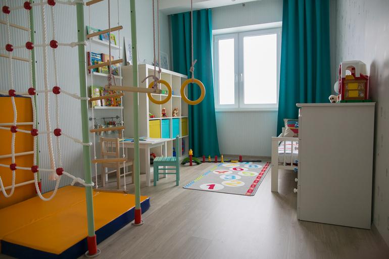 Детская комната для мальчика 2 года дизайн