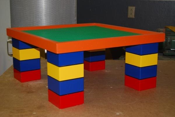 Стол для лего как сделать 98
