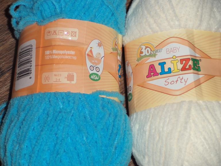 Выбрать пряжу для вязания ребенку