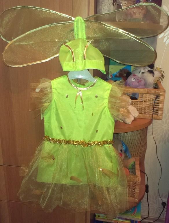 Карнавальный костюм для девочек стрекоза