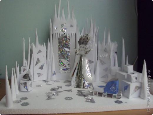 Поделки снежная королева