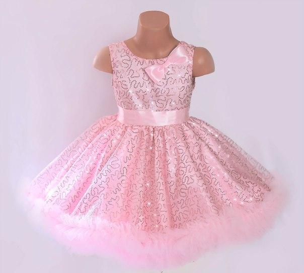 Новогодние платья для девочки сшить 565