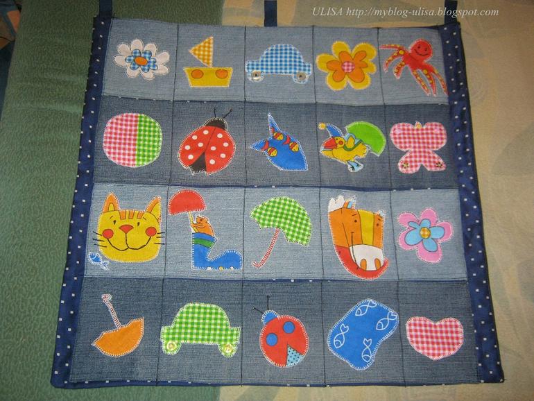 Карманы для расчесок в детский сад