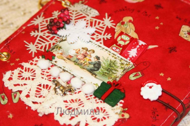 Блокноты новогодние