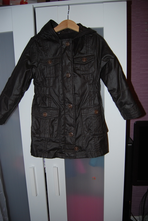 Куртка для девочки Dpam (Франция) размер 96-102