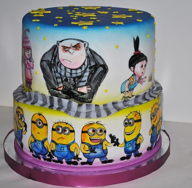 Торт гадкий я фото