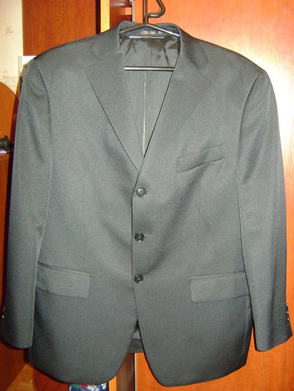 Пиджак чёрный(рост 158-160)
