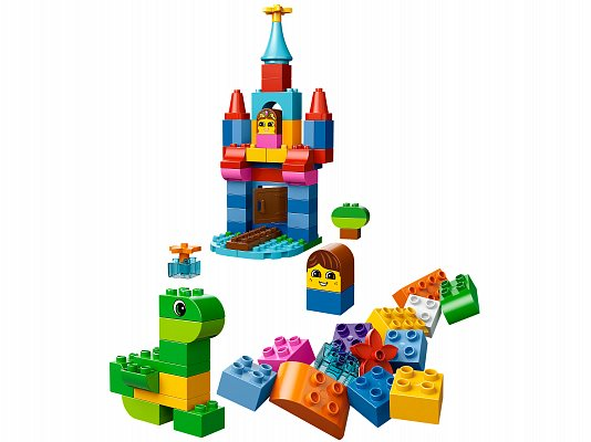 Лего дупло замок схема