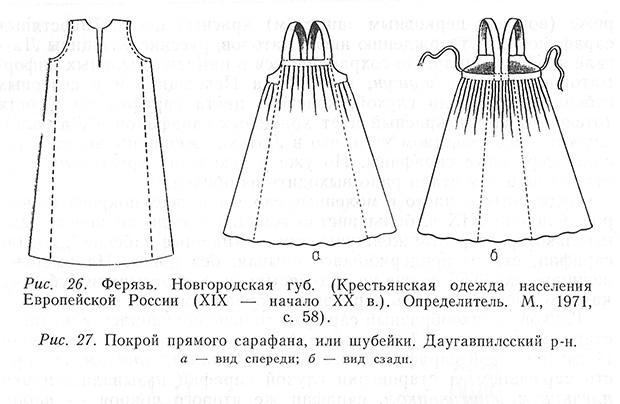 Русский народный сарафан своими руками быстро и просто выкройки