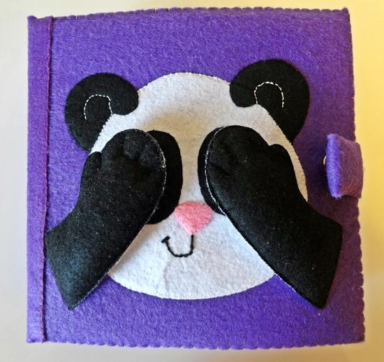 Запись желающих на совместный пошив развивающей книжки из фетра для малышей