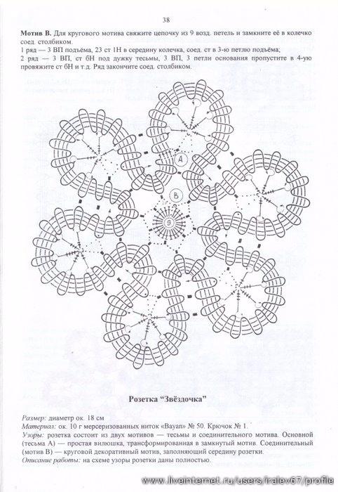 Вологодские кружева крючком модели схемы