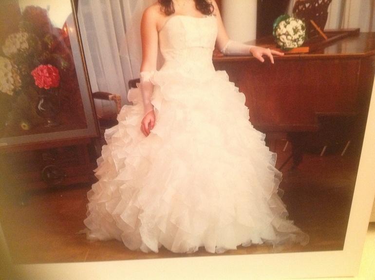 Платье цвет айвори 44-46 5000 р