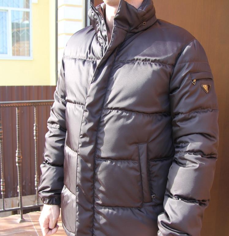 PRADA новая тёплая мужская куртка, размер 50ит.