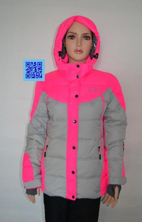 Купить Красную Женскую Куртку С Капюшоном Горнолыжную Недорого