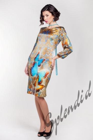 Модель Платья Из Шелка