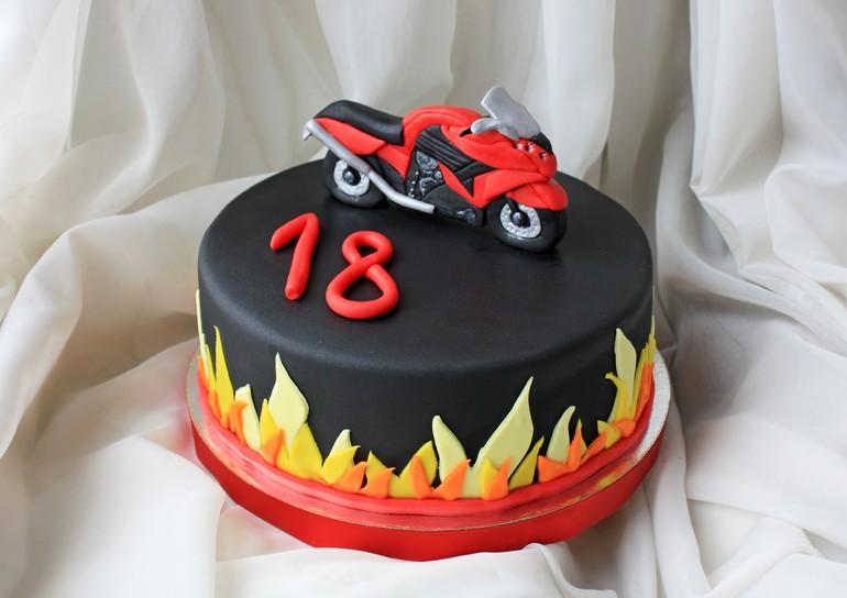 Фото торт мотоцикл