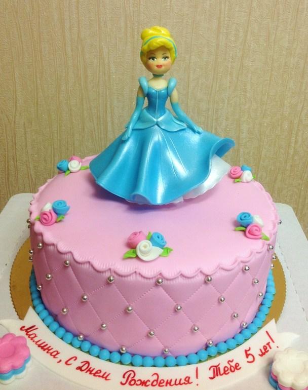 торт с золушкой фото