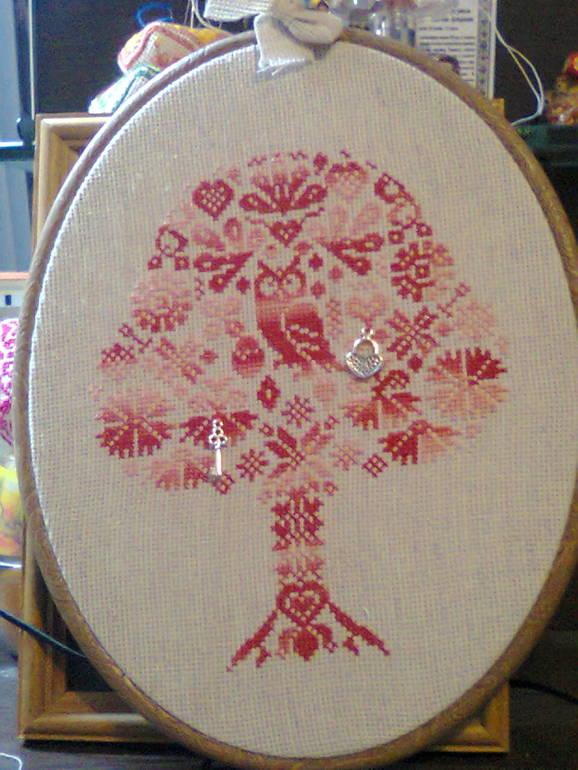 ЛЁН : канва для вышивания, с которой интересно работать! Крестик