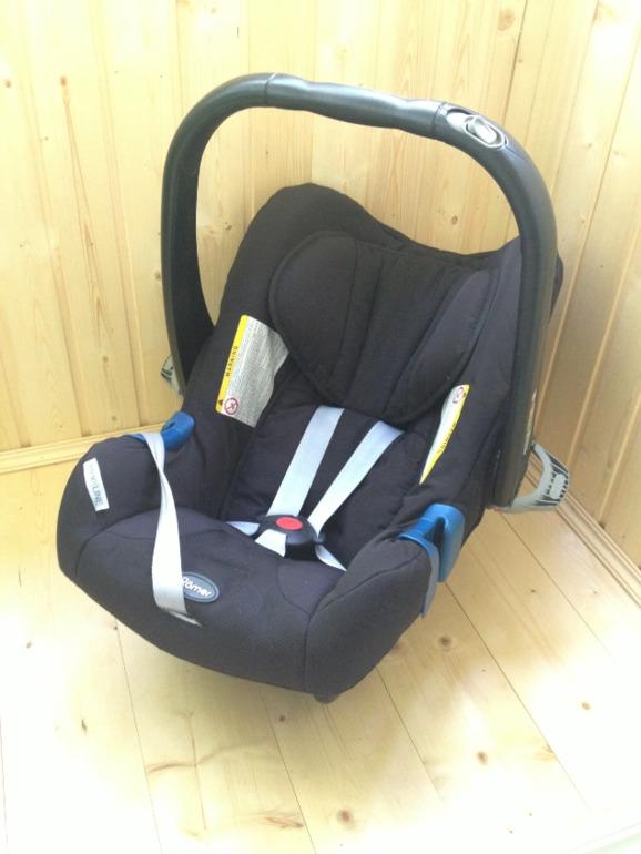 Автокресло  ROMER  baby  safe  plus  II  (Группа  0+,  с  рождения  до  13  кг)  Б/У