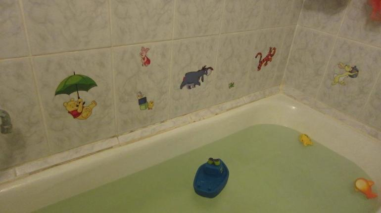 Теперь купание станет еще интереснее ))