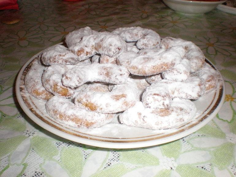 """печеньки """"коричные рогалики"""""""