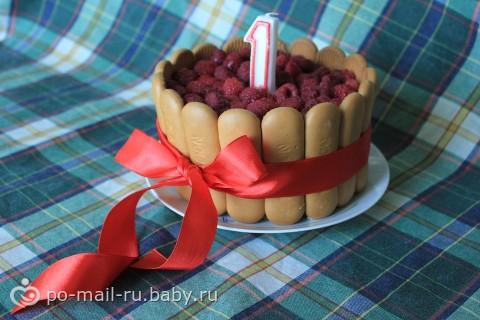 Рецепт торт для ребенка 1 год своими руками