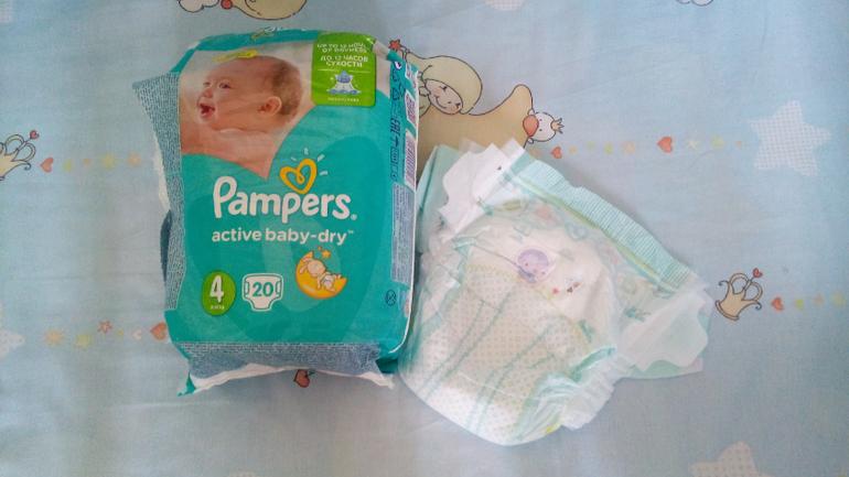 Подгузники Рampers new baby dry: отзывы, плюсы и минусы