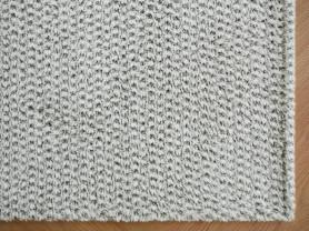 Серый ковер с ворсом Honey Bee