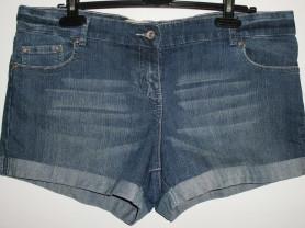 Шорты джинсовые стрейч E-vie Европа - р.44 (50-54)