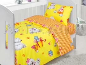 Новый комплект постельного белья из поплина