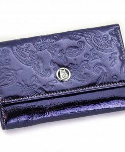 Маленький женский кожаный кошелек Sergio Valentini СВ 8141-0