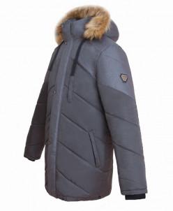 Куртка  с искусственным мехом Talvi