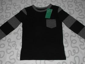 Новая футболка с длинным рукавом H&M, 122-128 см