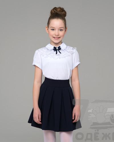 Блузка для девочки с коротким рукавом